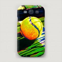 Пластиковый чехол Теннис арт на Samsung Galaxy S3
