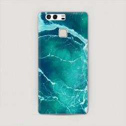 Пластиковый чехол Изумрудный океан на Huawei P9 (Dual)