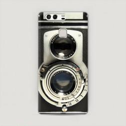 Пластиковый чехол Старинный фотоаппарат на Huawei P9 (Dual)
