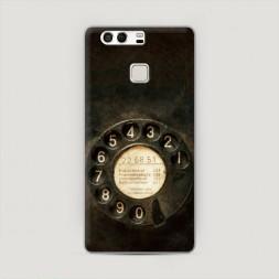 Пластиковый чехол Старинный телефон на Huawei P9 (Dual)