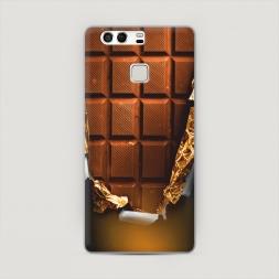 Пластиковый чехол Шоколадка на Huawei P9 (Dual)