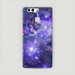 Пластиковый чехол Яркая галактика на Huawei P9 (Dual)
