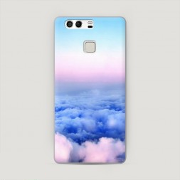 Пластиковый чехол Облака на Huawei P9 (Dual)