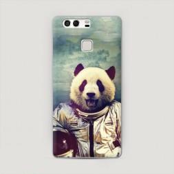 Пластиковый чехол Космическая панда на Huawei P9 (Dual)