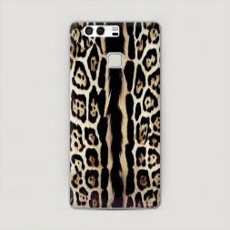 Пластиковый чехол Леопард кавалли на Huawei P9 (Dual)