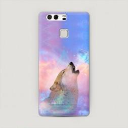 Пластиковый чехол Мечта волка на Huawei P9 (Dual)