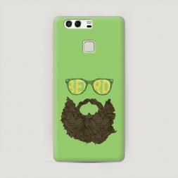 Пластиковый чехол Модная борода на Huawei P9 (Dual)