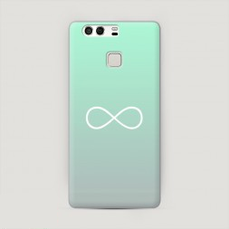 Пластиковый чехол Бесконечность от Тиффани на Huawei P9 (Dual)