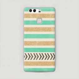 Пластиковый чехол Песок и мята на Huawei P9 (Dual)