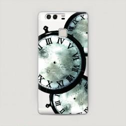 Пластиковый чехол Врата Штейна часы на Huawei P9 (Dual)
