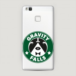 Пластиковый чехол Gravity Falls logo на Huawei P9 lite