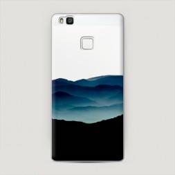 Пластиковый чехол Горы арт 7 на Huawei P9 lite