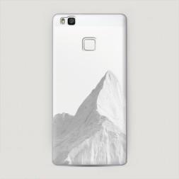 Пластиковый чехол Заснеженные горы на Huawei P9 lite