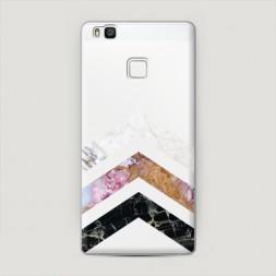 Пластиковый чехол Три камня на Huawei P9 lite