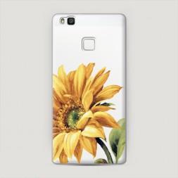 Пластиковый чехол Желтая хризантема на Huawei P9 lite